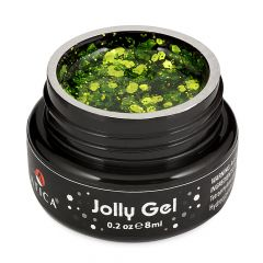 Цветной гель Jolly Зеленый 8мл